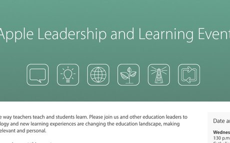 Apple Leadership and Learning Event   3rd May