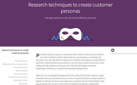 Web design personas - best practices and examples