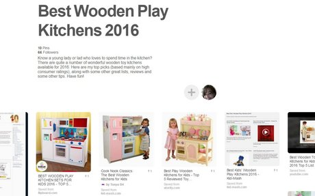 Best Wooden Play Kitchens 2016