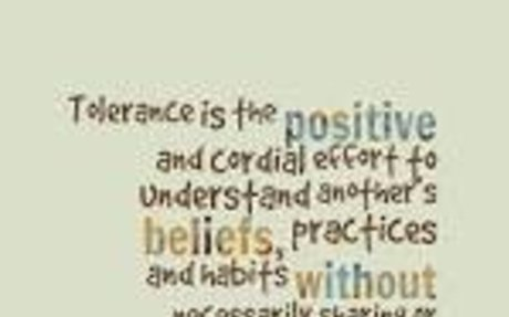 tolerance quotes - Google Search