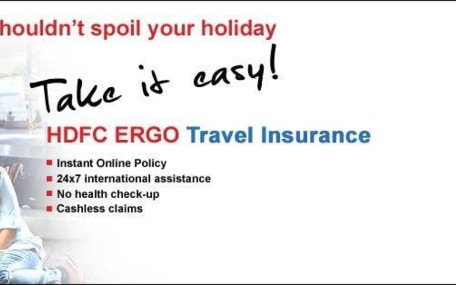 Travel Insurance: International Travel Insurance Online - HDFC ERGO