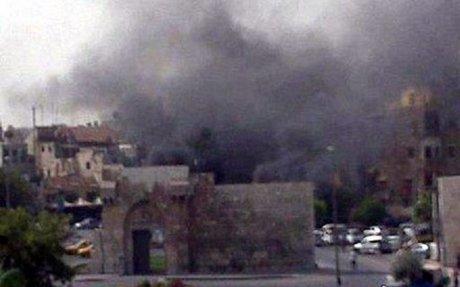 6 شهداء و4 جرحى جراء استهداف حافلة ركاب في خان الشيح بريف دمشق