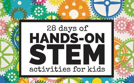 28 Days of Hands-On STEM Activities for Kids - Left Brain Craft Brain