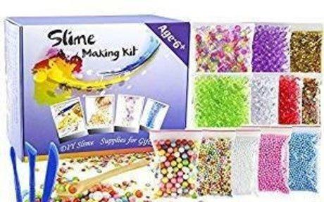 Amazon.com: OPount 15 Pack Slime Making Kit Including Fishbowl Beads, Foam Balls, Slime St