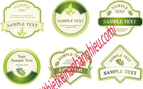 In tem nhãn sản phẩm Bế theo hình - Thiết kế in ấn bảng hiệu