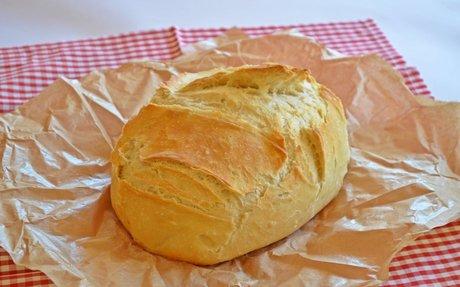 Dagasztás nélküli fehér kenyér