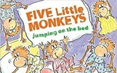 Five Little Monkeys Jumping on the Bed (Padded Board Book) (A Five Little Monkeys Story):