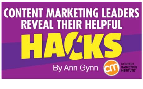 Content Marketing Leaders Reveal Their Helpful Hacks