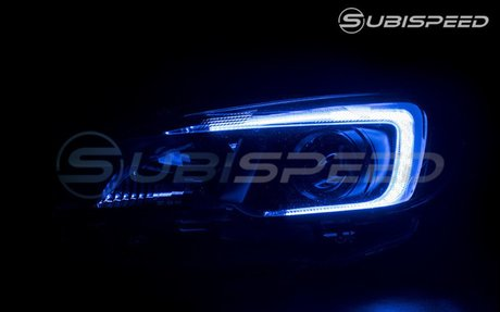 Morimoto XBT RGB LED C-light DRLs for Headlights - 15+ WRX / 15-17 STI