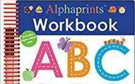 Alphaprints: Wipe Clean Workbook ABC (Wipe Clean Activity Books): Roger Priddy: 9780312521