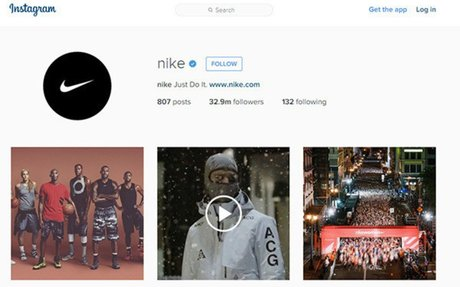 How Nike uses Instagram for marketing and is winning