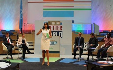 """SDG-festival i Bonn: Verdensmål er """"folkets agenda"""""""