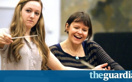 Not just a cute girl on a podium: how to get more women conducting