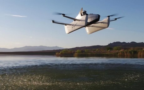 You might soon be able to pilot Larry Page's new flying car