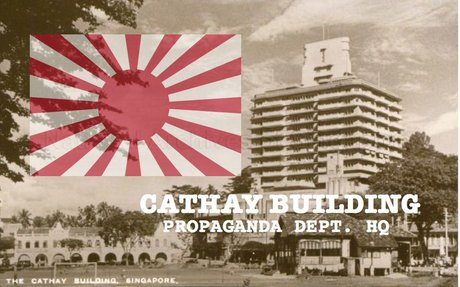 LKY worked at the Japanese propaganda department at Cathay during the Occupation