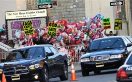 Whitney Houston's Funeral Exposes Westboro Baptist Church Protesters As Cowards and L