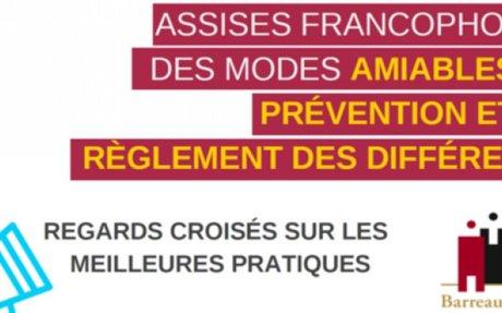 Colloque : Assises francophones des MARD | LexTimes