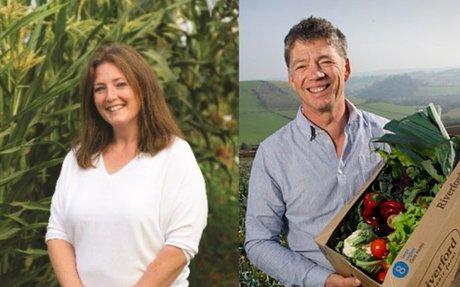 Day 1 Keynote Interview - Guy Singh-Watson & Charlotte Tickle - Riverford Organic Farmers