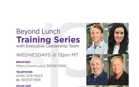 Beyond Lunch Training Series