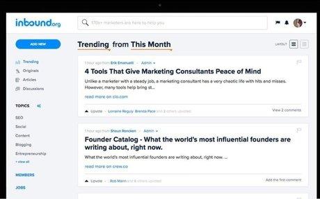 The Smartest Inbound Marketing Community Online | Inbound.org