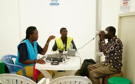 آلاف اللاجئين الكونغوليين يخضعون لعملية تحقق من الهوية في أوغندا