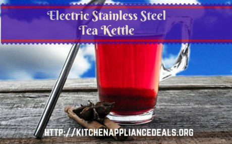 Modern Stainless Steel Electric Kettle To Buy | Kitchen Appliance Deals