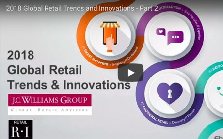 2018 Global Retail Trends and Innovation: Trend One: 'Smart Shopping' [Video]