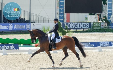 Dressage:  America wins the Nations Cup Rotterdam
