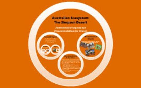 Environmental Impacts: Simpson Desert