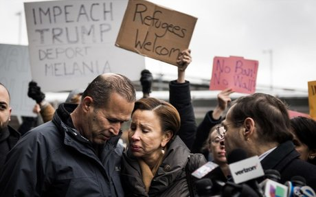 These are the faces of Trump's ban