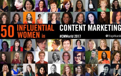 50 Influential Women in Content Marketing 2017 #CMWorld