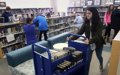 Fremont students design new library cataloging system