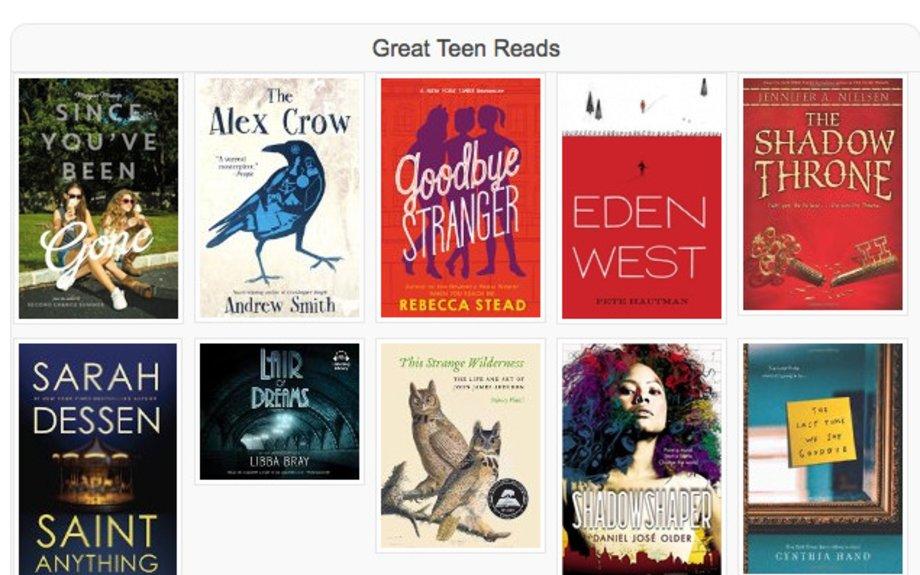 Teens Booklists