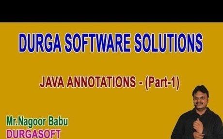 Java Annotations Part 1
