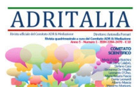 ADR Italia – Numero 1/2018 (Versione PDF) | ADRITALIA