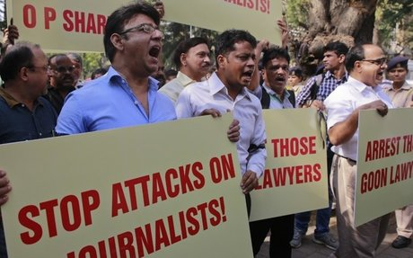 Journalists honoured for bravery amid global threats