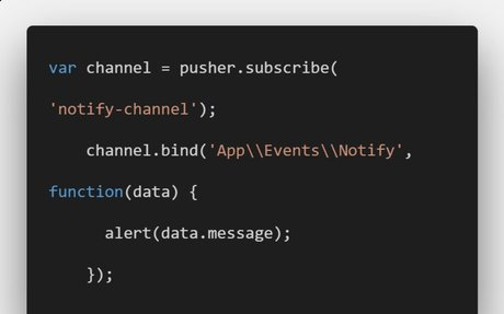 Laravel Real Time Notification Tutorial With Example