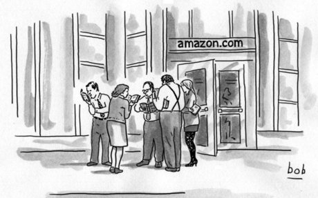 Bookstores, the Amazon resistance