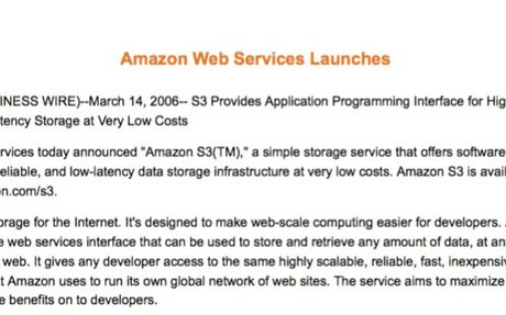 How Amazon Web Services (AWS) Achieved an $11.5B Run Rate by Working Backwards