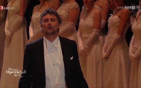 Jonas Kaufmann, Wiener Opernball 2017