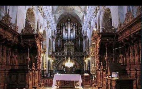 Leżajsk baroque pipe organ - J.S. Bach Praeludium in c minor, BWV 546