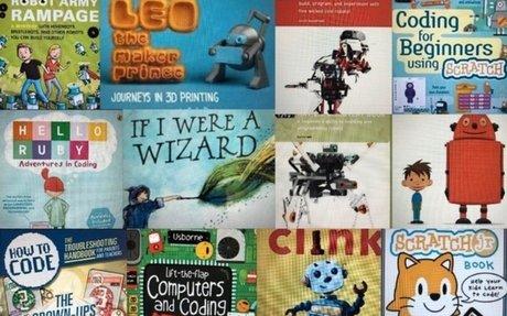 Books to Inspire Coding & Robotics - TinkeringChild