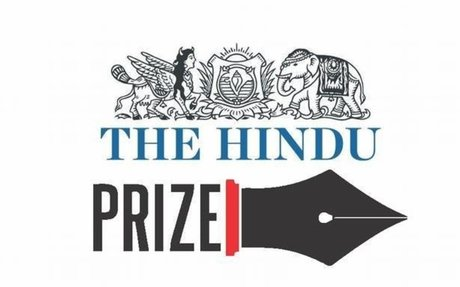 Submissions invited for The Hindu Prize 2017