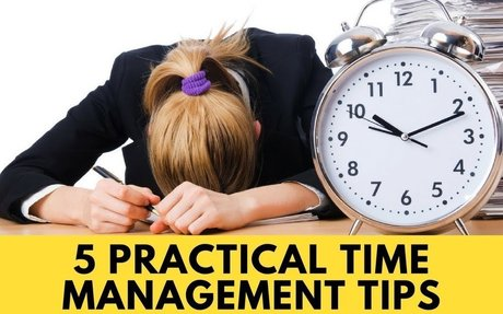 5 Practical Time Management Tips To Master Productivity - How To Manage Time Effectively