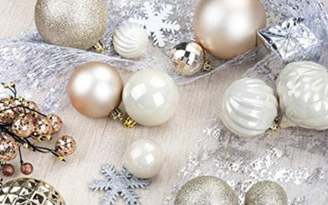 Amazon.com: KI Store 34ct Christmas Ball Ornaments Shatterproof Christmas Decorations Tree