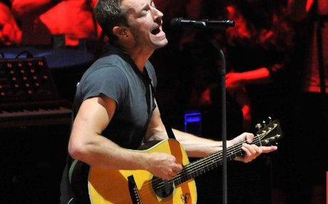 Chris Martin calls for shared parental leave to be extended for producers and roadies