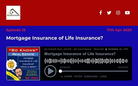 Mortgage Insurance of Life Insurance?