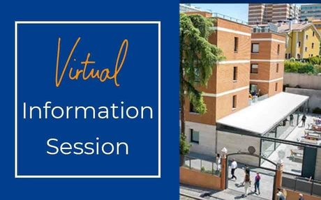Madrid - Virtual Information Session. October 29th 17:00h (English)                    ...