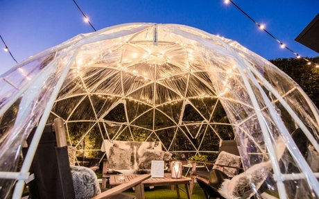 Hire a Cosy Private Igloo for Dinner at One of These Melbourne Pubs