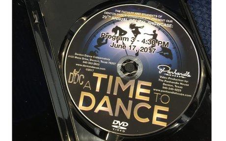 DVD Order Form Recital 2019 (Deadline June 30th)